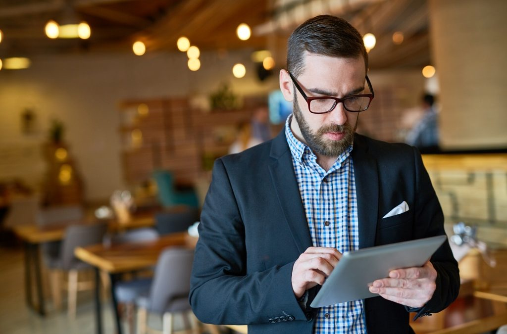 How can broadband companies improve/impact one's average work efficiency?